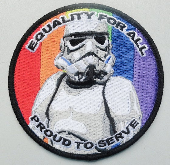 Image of Equality - TK Stormtrooper Patch 3.5""