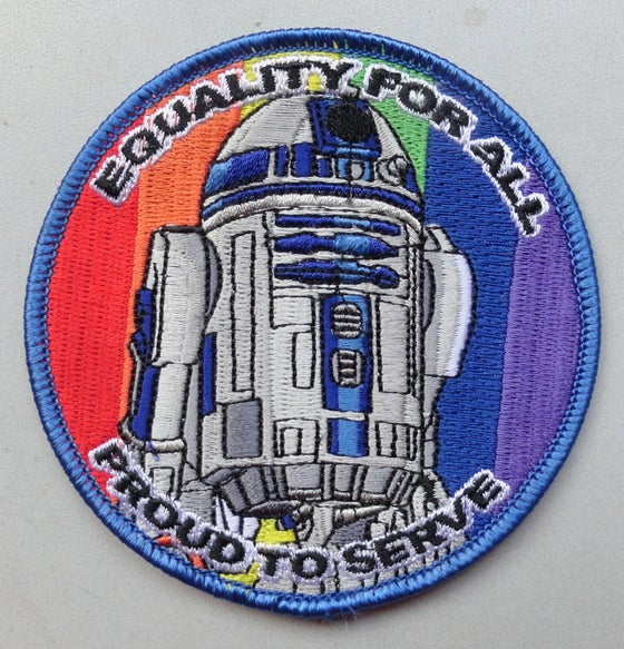 Image of Equality - R2 Patch 3.5""