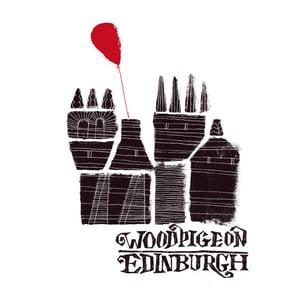 """Image of Edinburgh / Little Magnet 7"""""""