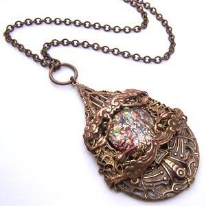Image of Leelee Sobieski Fairy Goddess Necklace