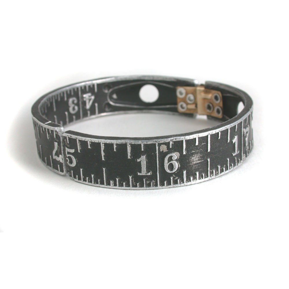 Image of black ruler bangle