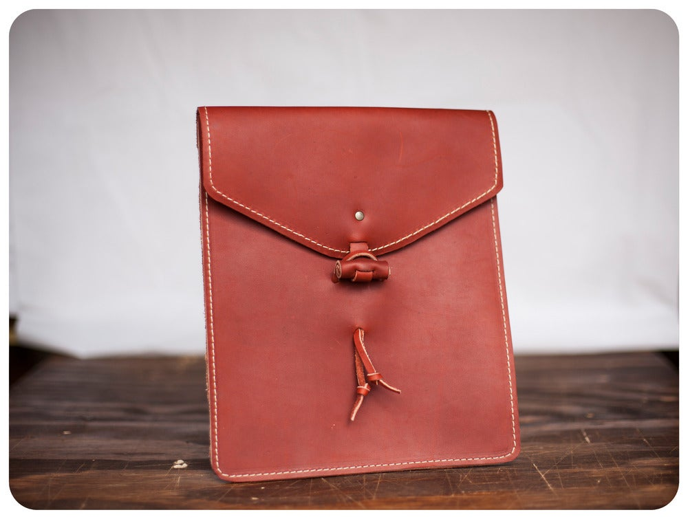 Image of iPad Envelope Sleeve - Redwood