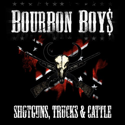 Image of Bourbon Boys - Shotguns, Trucks & Cattle (CD)