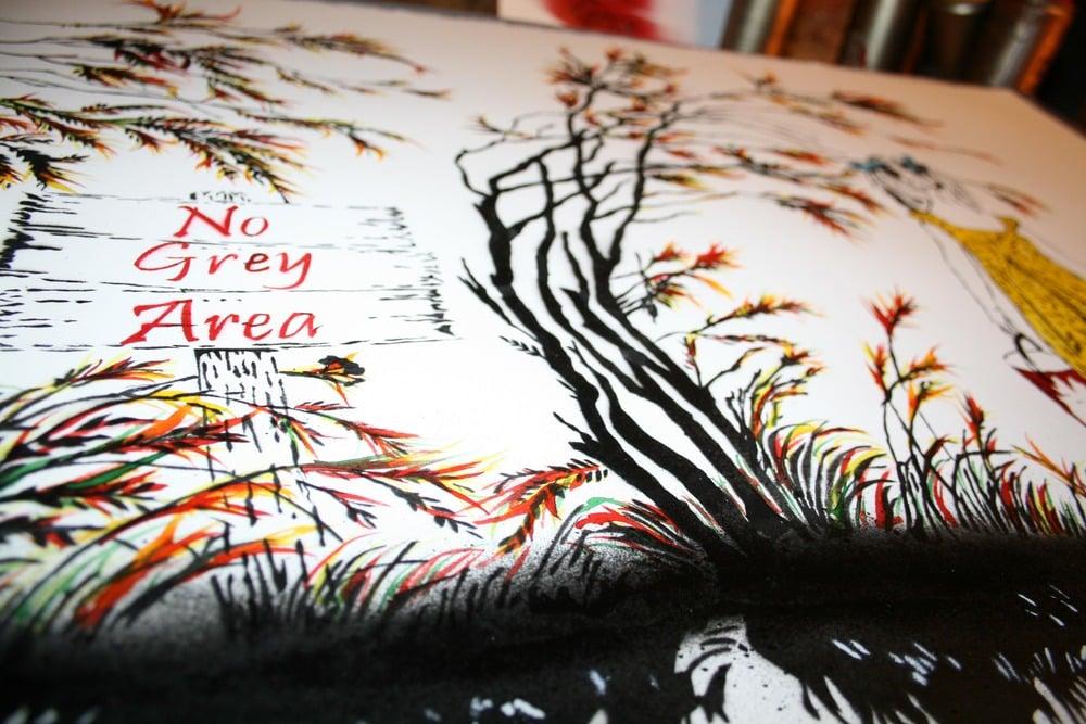 """Image of """"No Grey Area"""" - Paper Edition"""