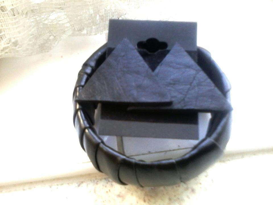 Image of Black Leather Set