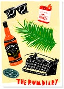 Image of The Rum Diary Silkscreen print