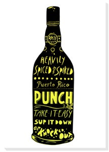 Image of Puerto Rico Punch Silkscreen print