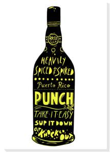 Image of Puerto Rico Punch Silkscreen print
