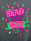 Read The Vibe T Shirt in Charcoal