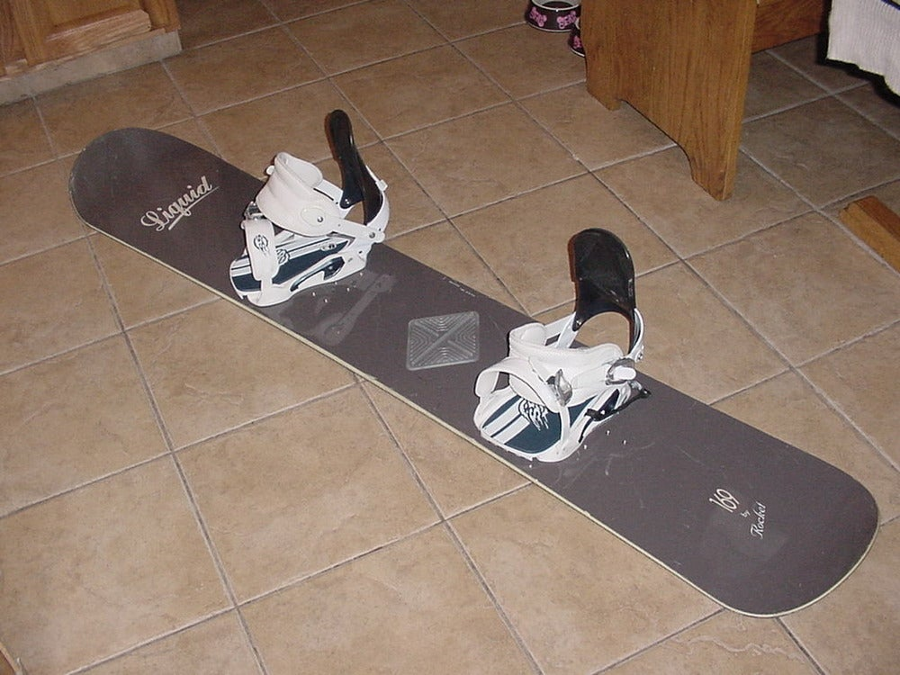Image of Liquid Rocket 169cm Snowboard w/Sims SS XL Bindings