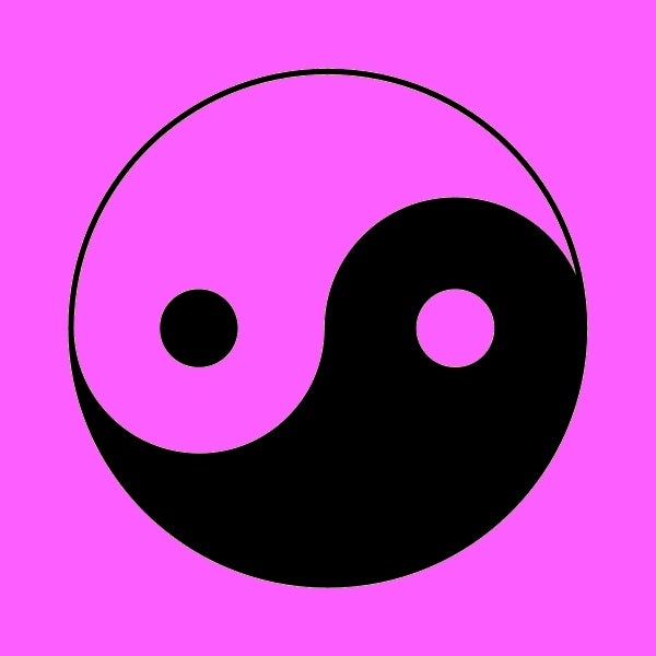 Image of YIN YANG (two colours)