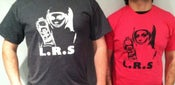Image of Random colored L.R.S. Records shirt