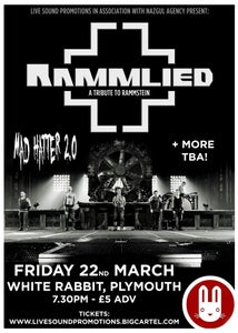 Image of RAMMLIED @ WHITE RABBIT | 22/03/2013 - General Admission