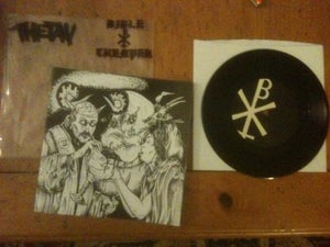 "Image of 7"" VINYL split with Thetan"