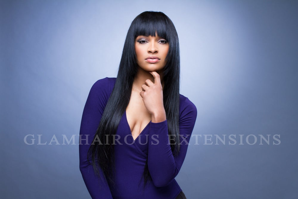 Image of 28-30inch Straight Hair