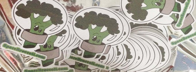 Image of SpaceBroccoli Sticker