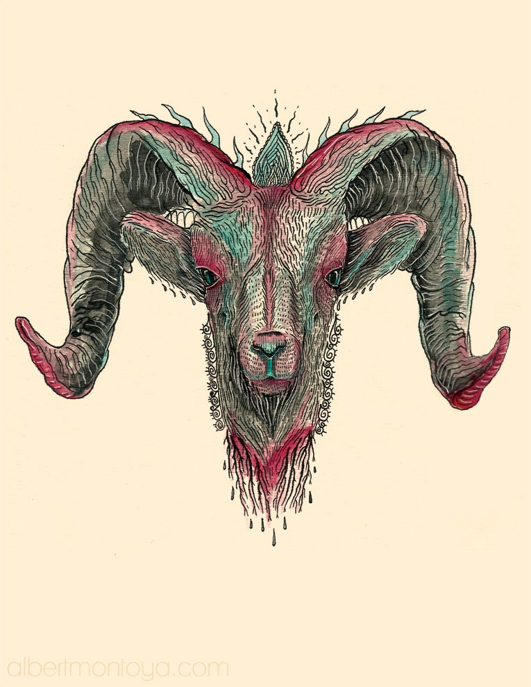 """Image of """"Humbaba"""" Print"""