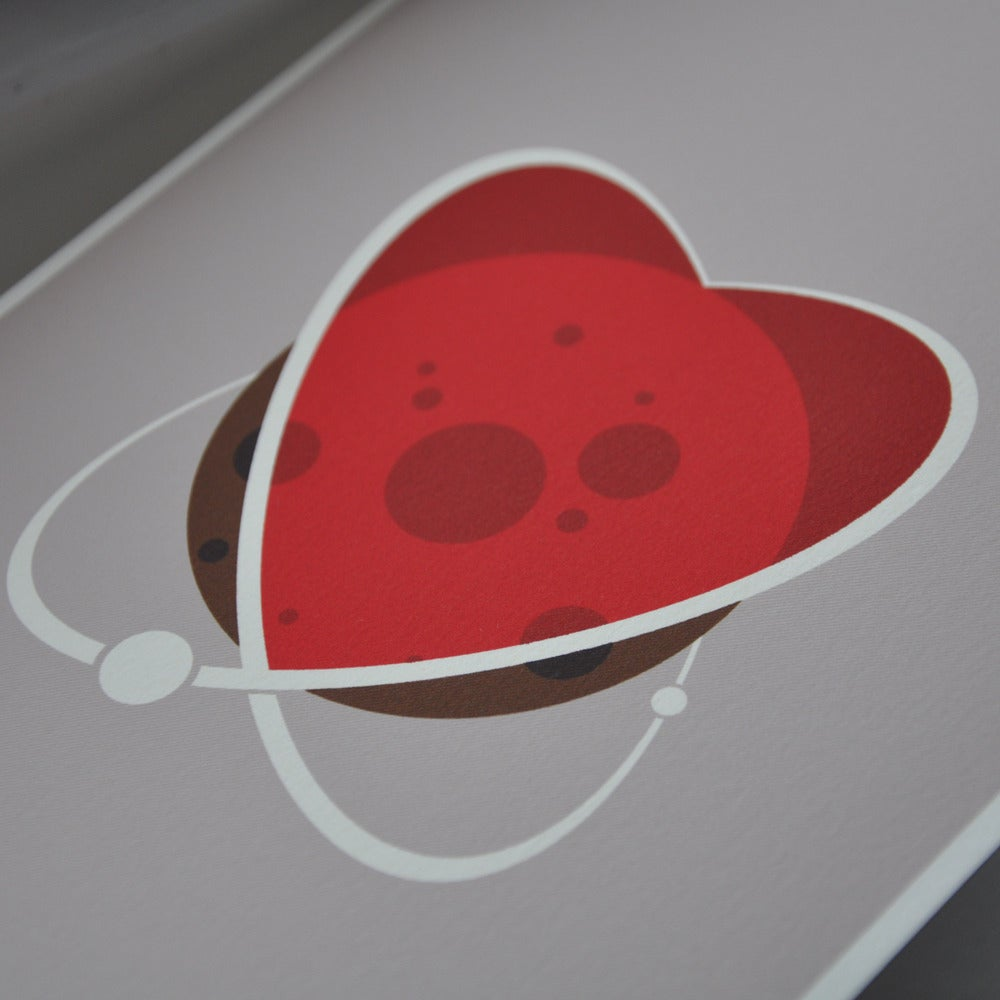 Image of Space Love Card