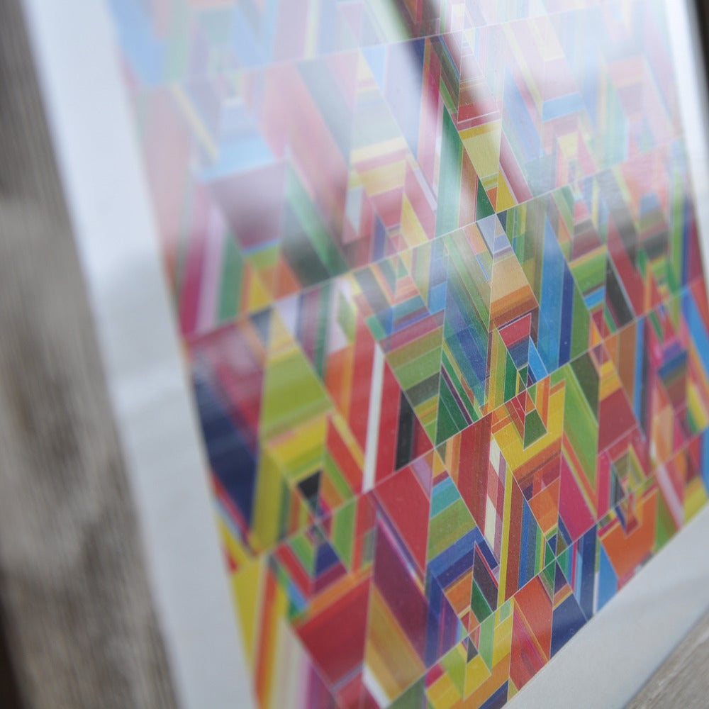 Image of Cuben Reflect Print
