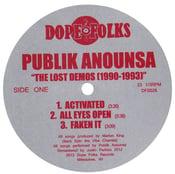 "Image of PUBLIK ANOUNSA ""THE LOST DEMOS 1990-1993"""