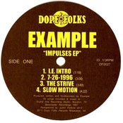 """Image of EXAMPLE """"IMPULSES"""" EP ****SOLD OUT****"""