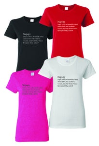 "Image of ""Nappy Dictionary"" T shirt"