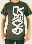Image of Vena Cava: Charcoal logo t-shirt