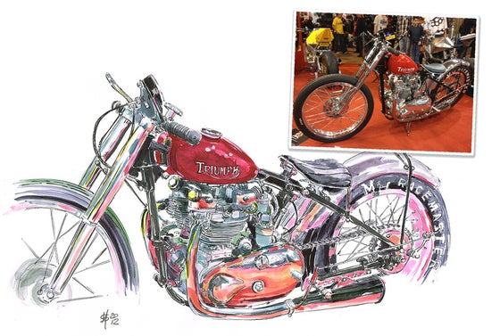 Image of Commission an Original Sketch of Your Machine