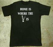 """Image of MJL """"Home is"""" Black T-Shirt"""