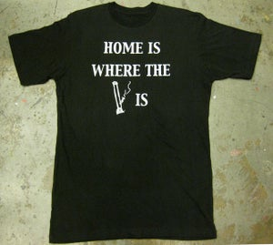 "Image of MJL ""Home is"" Black T-Shirt"