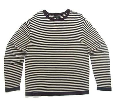 Image of Nautical Striped Crewneck Shirt