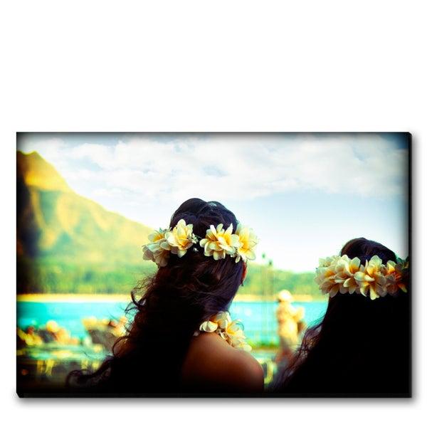 Image of ISLAND GIRLS - (Metal or Canvas)