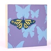 Image of Lilac with Butterflies 7 x 7
