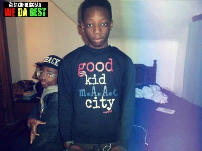 Image of #GKMC GOOD KID M.A.A.D. CITY CREWNECK KendrickLamar by #WEDABEST