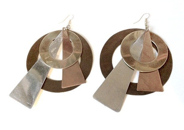 Image of Exclusive Statement Geometric Earrings