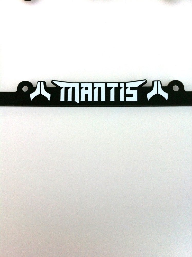 Image of Mantis United license plate frame