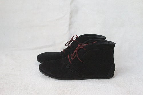 Image of Desert boots - Leona in Black Suede
