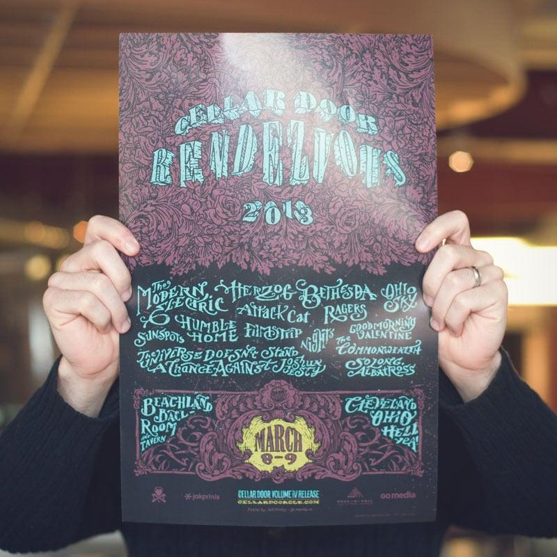 Image of Cellar Door Rendezvous 2013 Poster