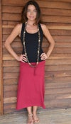 Image of Bamboo Gypsy Skirt.