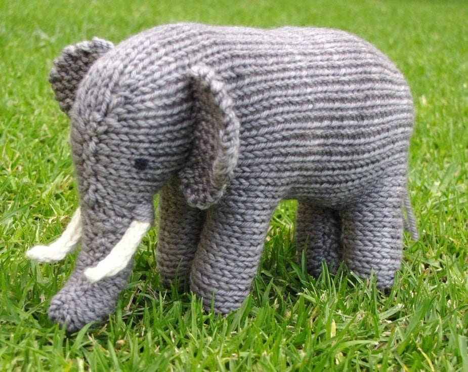 Mamma 4 Earth Elephant Knitting Pattern Pdf