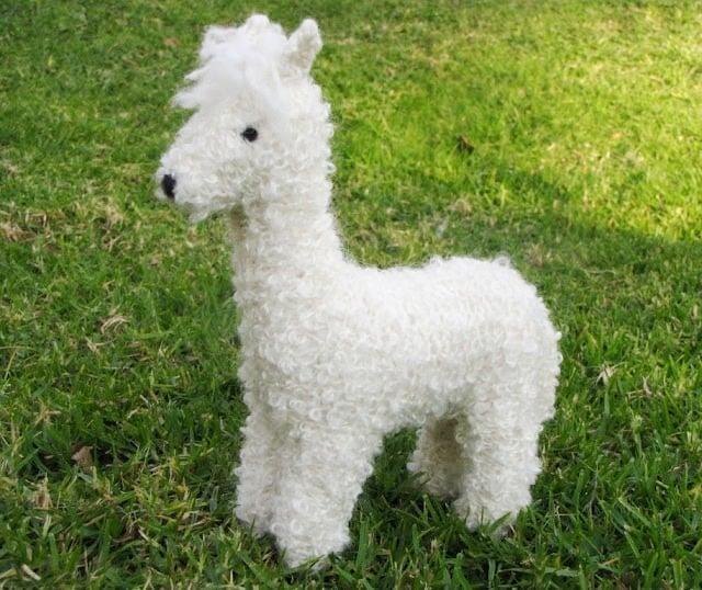 Mamma 4 Earth Alpaca Toy Knitting Pattern Pdf