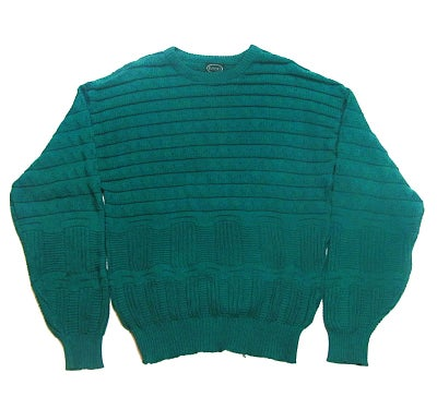 Image of Izod Teal Knit Sweater