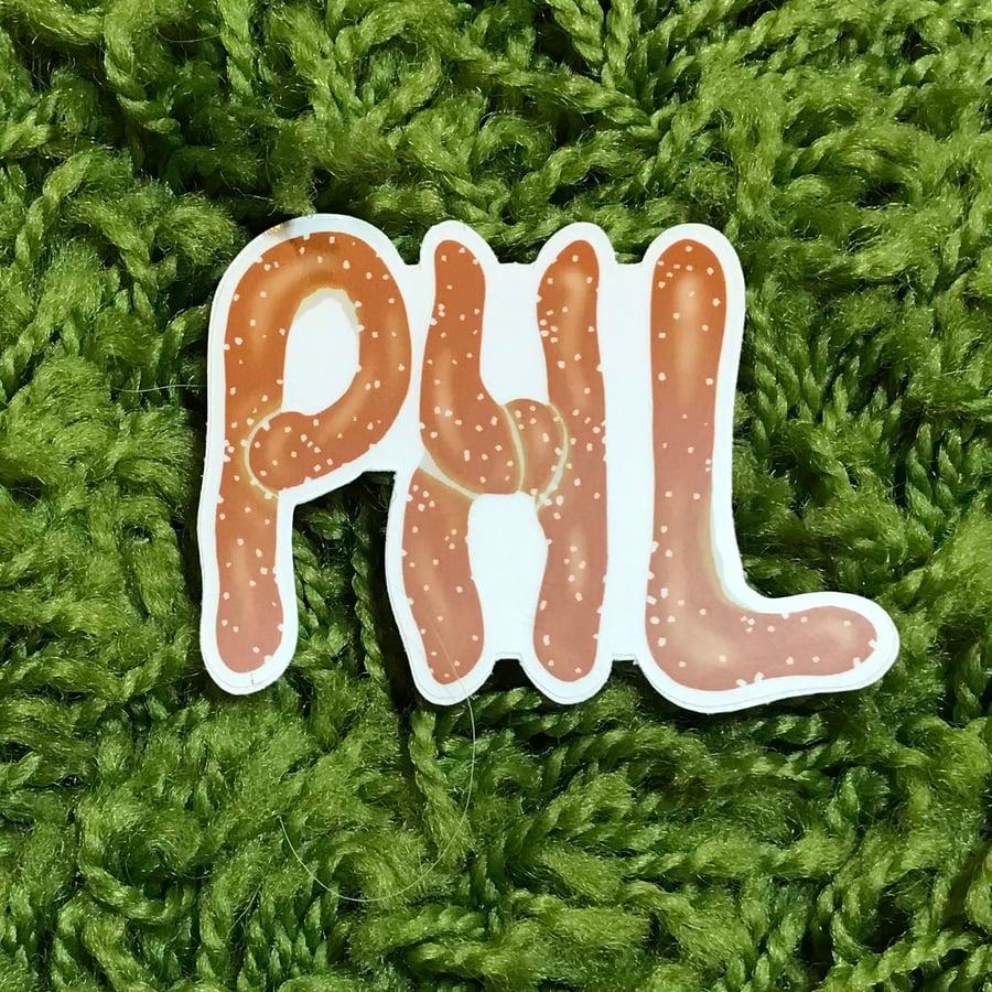 Image of PHL Sticker