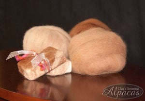 Image of Our Alpaca Roving - 1oz Balls