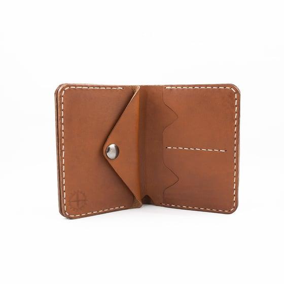 Image of Biker leather wallet