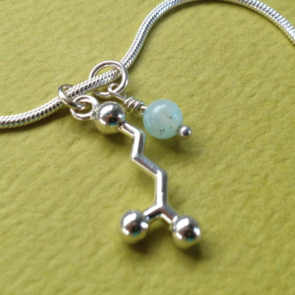Image of GABA yoga necklace