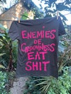 Enemies of Grooviness Eat Shit!   T Shirt