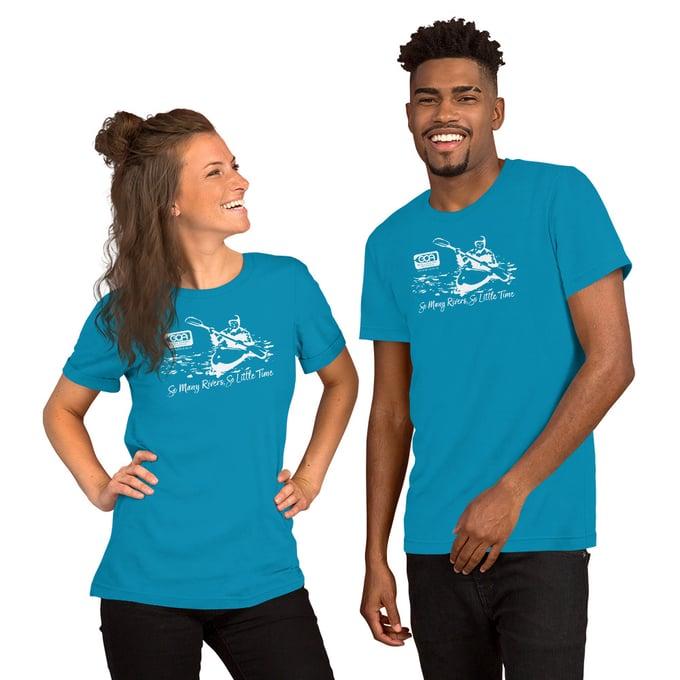 Image of T-Shirt, Kayaker, Bright Colors