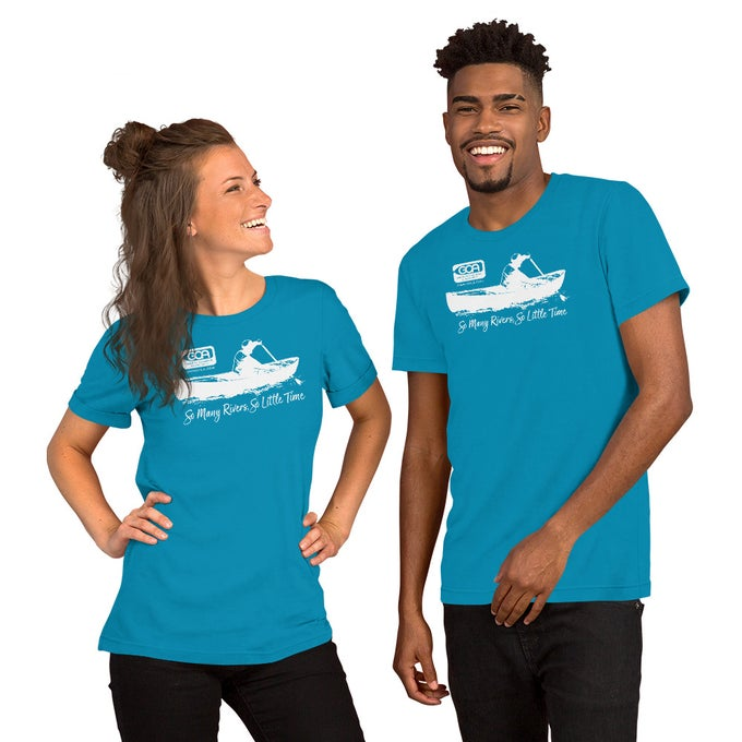Image of T-Shirt, Canoeist, Bright Colors
