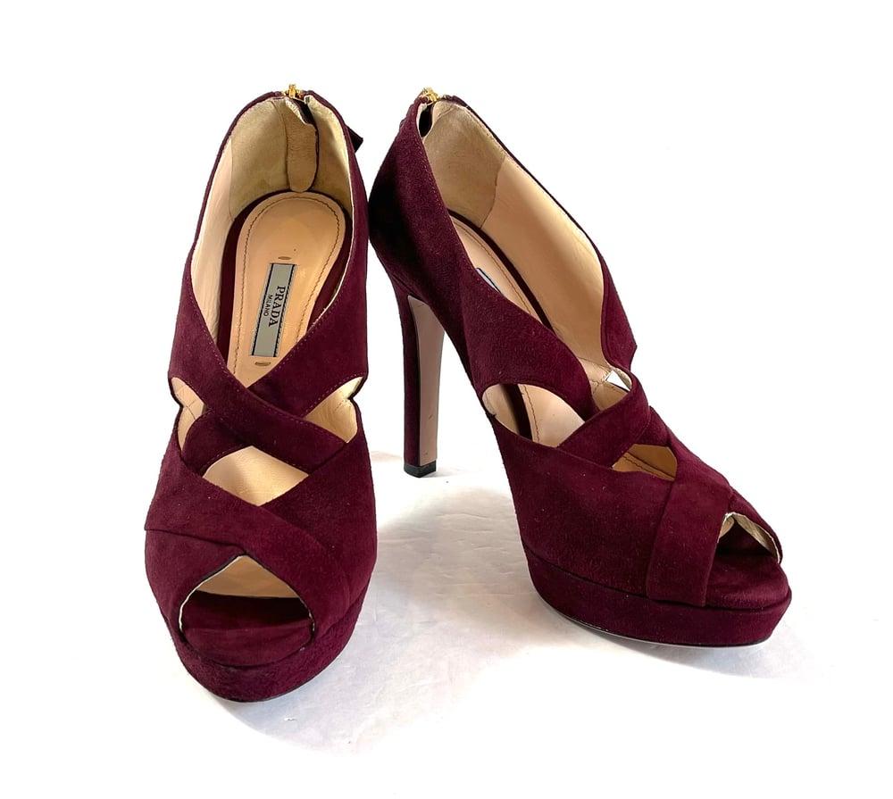 Image of Prada Size 38.5 Shoes 914-20
